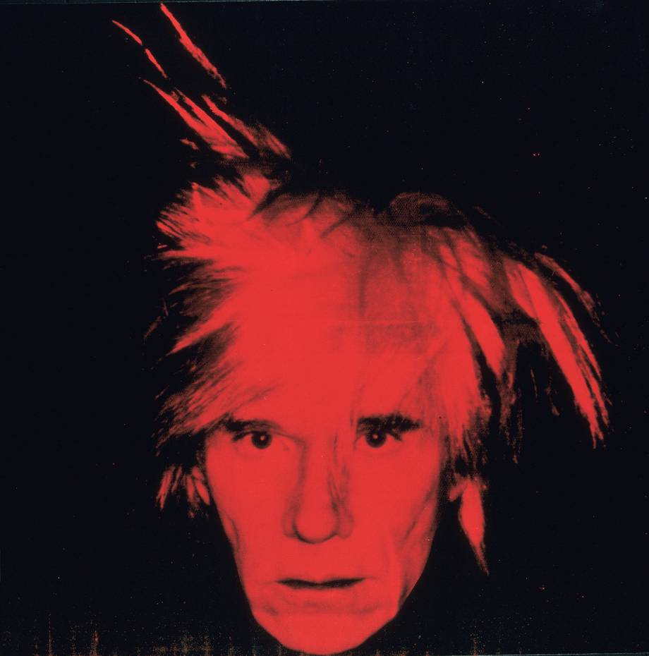 Self-Portrait 1986 by Andy Warhol 1928-1987